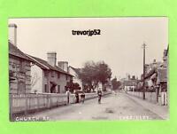 Church Road Eardisley Nr Hay on Wye Hereford RP pc used 1904 Ref B479