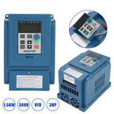 1XAC 380V 1.5kw 4A Frequenzumrichter VFD 3 Phase Drehzahlregler Inverter Motor G