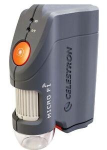 Celestron Micro Fi Handheld WiFi Wireless Microscope #44313 (UK Stock) BNIB NEW