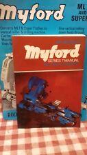 TORNI MYFORD SERIE 7 MANUALE ML7 ML7-R SUPER 7