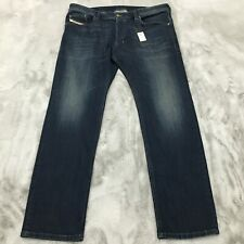 New Diesel Safado Regular Slim-Straight Denim Jeans Mens Size 38 x 30 $188