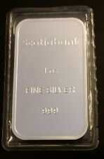 1 OZ .999 Silver Scotiabank Bar SEALED