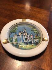 Vintage DISNEYLAND Ashtray - Sleeping Beauty Castle - WALT DISNEY PRODUCTIONS
