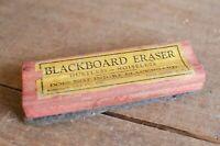 Vintage Blackboard Eraser USED blackboard eraser vintage schoolhouse