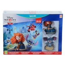 Disney Infinity 2.0 Toy Box Starter Pack Merida Stitch Characters Toy Game Wii U
