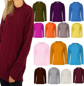 jumpers for women cable knitted ladies winter knitwear Top cardigan C25