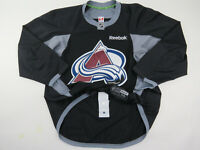 Practice Worn Reebok Colorado Avalanche NHL Pro Stock Hockey Jersey 56 Black #63