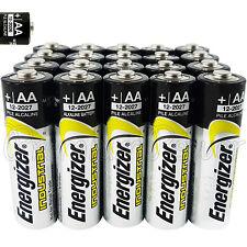 20 x Energizer AA batteries Industrial Alkaline 1.5V LR6 AM3 EN91 MIGNON EX:2026