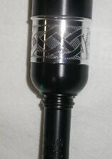 McCallum PC5 Plastic Long Practice Chanter Celtic Engraved Imitation Ivory Sole
