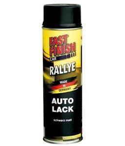 FAST FINISH CAR RALLYE 1K AUTOLACK SCHWARZ MATT 1 x 500 ml 292828
