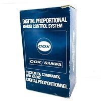 NEW Vintage COX Sanwa 2-Channel Digital Proportional Radio Control System 8020