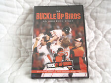 THE BUCKLE UP BIRDS AN UNDERDOG STORY DVD NEW BALTIMORE ORIOLES 2012 SEASON MLB
