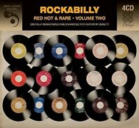 ROCKABILLY - RED HOT AND RARE - VOLUME TWO 4 CD NEU