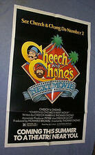 Original CHEECH & CHONG'S NEXT MOVIE Advance 1 Sheet