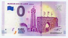 Billet Touristique 0 Euro --- Diksmuide Museum Aan de Ijzer - 2018-1