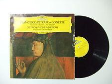 Petrarca,Schubert ·Liszt - Pfitzner – Sonette -Disco Vinile 33 Giri LP GERMANIA