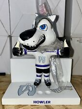 Wausau RiverWolves Hockey Howler Mascot Bobblehead Toothbrush Holder **RARE**