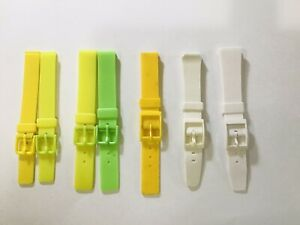 Rubber (PVC) Watch Band 12mm 14mm 18mm