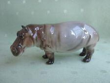 Schöne Hutschenreuther Figur als Nilpferd