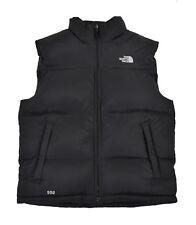 Men's North Face Black Nuptse Style Donner 550 Down Vest Jacket L/XL New $175