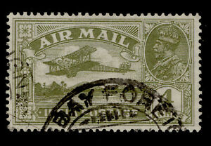 INDIA GV SG222, 4a olive-green, FINE USED.