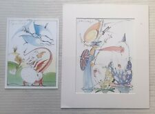 Gerald Scarfe 1936 original signed prints Margaret Thatcher Yes Prime Minister