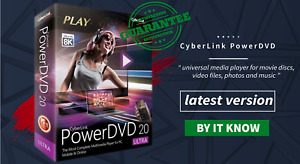 Cyberlink PowerDVD Ultra 20 | Lifetime Activated | Fast Delivery