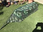 Ultralight Camouflage 1 Person Waterproof Bivy Tent for Backpack 30 Second Setup