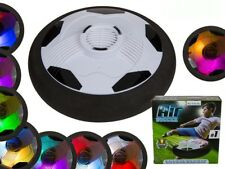 Indoor Outdoor LED Light Up Air Power Soccer Disk Football Disc Children's Hover