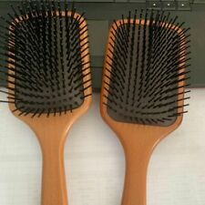 Large Square Wooden Hair Paddle Brush Scalp Massage Comb for Womens comb