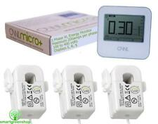 OWL Micro+ CM180 XL (3 Phase) Wireless Energy Monitor, Electricity Cost Meter