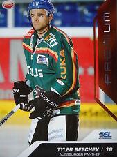107 Tyler Beechey Augsburger Panther DEL 2009-10 Premium Bronze