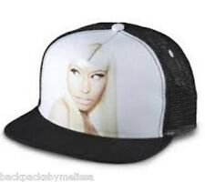 Nicki Minaj HAT NeW White and Black FACE Baseball Cap Adjustable Strap