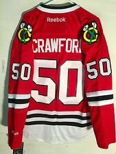 Reebok Premier NHL Jersey Chicago Blackhawks Corey Crawford Red sz XL