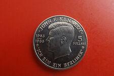 *Niue 5 Dollars 1988 * John F. Kennedy  (BOX1)