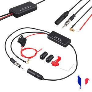 3 en 1 DAB pour recevoir des signaux radio numérique Antenne de voiture AM /FM