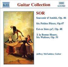 Sor: Guitar Music - Souvenir d'Amitié: Fantaisie, Op. 46; Six Petites Pièces, Op