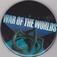"VINTAGE 3"" PINBACK #28-130 - MOVIE - WAR OF THE WORLDS - STYLE 2"