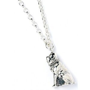 NEW Official Licensed Harry Potter St. Silver Hagrids Dog Fang Pendant Necklace