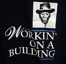 Marlon Saunders Workin On A Building Xl Shirt Slavery