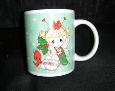 Precious Moments Cocoa Hot Chocolate Christmas Holiday Coffee 2011 Cup Mug Angel