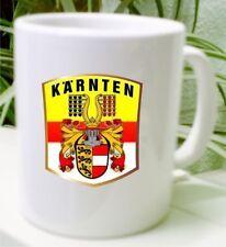 Wappen Kaffee Tasse Österreich Kärnten Geschenkidee