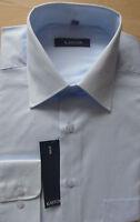Kastor Herren Hemd Langarm weiß, schwarz, schwarz gestreift, blau Gr. M, L, XL