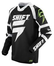 $39 Shift Racing Men's Strike Clone Jersey Bike Motocross In Black Size S
