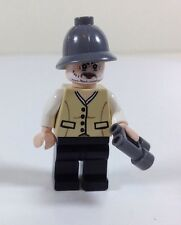 LEGO Henry Jones Senior Minifigure (Sean Connery, Indiana Jones) with Binoculars
