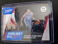 2017-18 Panini Prestige Highlight Reel #6 Markelle Fultz 76ers RC Rookie Card