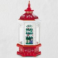 Christmas Lantern Table Decoration With Light, Sound and  2018 Hallmark Ornament