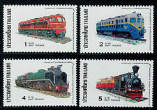 1977 Thailand Stamp 80th Anniv. of State Railroad of Thailand MNH Sc#811-14