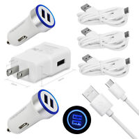 Cell Phone Accessories For Samsung Galaxy S10e S10 Plus S9+ S8+ Wall Car Charger