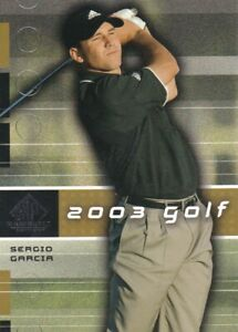 2003 SP Game Used Golf Pick Your Cards!  Complete Your Set!